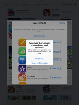 Apple iPad Mini 4 - Applicaties - Downloaden - Stap 13