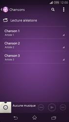 Sony Xpéria Z3 - Photos, vidéos, musique - Ecouter de la musique - Étape 5