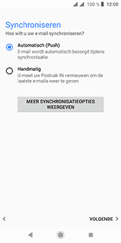 Sony xperia-l3-dual-sim-I4312 - E-mail - Account instellen (IMAP met SMTP-verificatie) - Stap 20