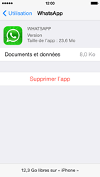 Apple iPhone 5s - Applications - Supprimer une application - Étape 6