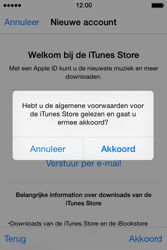 Apple iPhone 4s iOS 8 - Applicaties - Account aanmaken - Stap 12