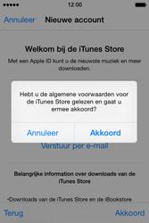 Apple iPhone 4S met iOS 8 (Model A1387) - Applicaties - Account aanmaken - Stap 12