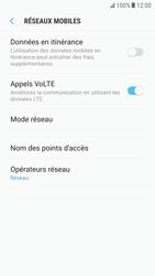 Samsung G920F Galaxy S6 - Android Nougat - Internet - Désactiver du roaming de données - Étape 7
