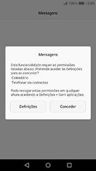 Huawei Y6 (2017) - SMS - Como configurar o centro de mensagens -  3