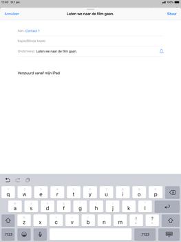 Apple ipad-air-10-5-inch-2019-model-a2123 - E-mail - Bericht met attachment versturen - Stap 7