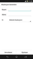 Sony Xperia Z 4G (C6603) - Internet - Hoe te internetten - Stap 13