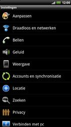 HTC X515m EVO 3D - Internet - aan- of uitzetten - Stap 4