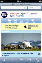 Apple iPhone 4 (iOS 6) - internet - hoe te internetten - stap 16