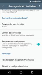 Sony Xperia XA1 - Device maintenance - Retour aux réglages usine - Étape 6