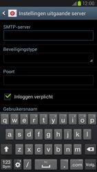 Samsung I9305 Galaxy S III LTE - E-mail - Account instellen (IMAP met SMTP-verificatie) - Stap 12