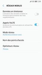 Samsung G920F Galaxy S6 - Android Nougat - Réseau - Activer 4G/LTE - Étape 8