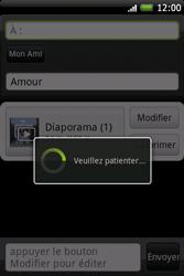 HTC A6262 Hero - MMS - Envoi d
