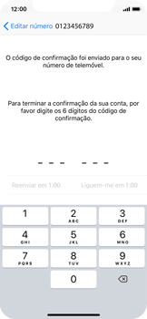Apple iPhone X - Aplicações - Como configurar o WhatsApp -  11