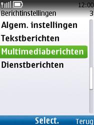 Nokia C2-01 - MMS - automatisch instellen - Stap 8
