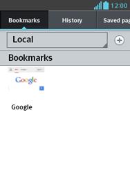 LG E430 Optimus L3 II - Internet - Internet browsing - Step 11