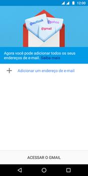 Motorola Moto G6 Plus - Email - Como configurar seu celular para receber e enviar e-mails - Etapa 5