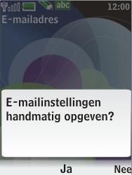 Nokia 7610 supernova - E-mail - handmatig instellen - Stap 12