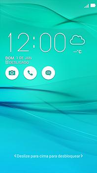 Asus Zenfone Go - Funções básicas - Como reiniciar o aparelho - Etapa 5