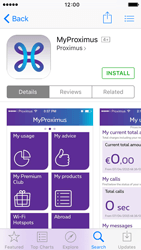 Apple iPhone 5 iOS 9 - Applications - MyProximus - Step 8