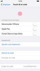 Apple iPhone 8 - Sécuriser votre mobile - Activer le code de verrouillage - Étape 4