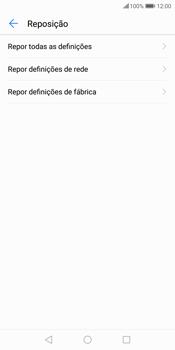 Huawei P Smart - Repor definições - Como repor definições de fábrica do telemóvel -  7