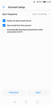 Huawei Mate 10 Pro - Email - Manual configuration IMAP without SMTP verification - Step 15