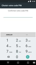 Motorola Moto E (1st Gen) (Lollipop) - Sécuriser votre mobile - Activer le code de verrouillage - Étape 9