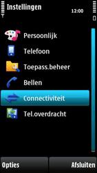 Nokia X6-00 - Internet - handmatig instellen - Stap 5