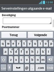 LG E430 Optimus L3 II - E-mail - e-mail instellen: POP3 - Stap 15