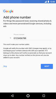 Nokia 6 (2018) - Applications - Create an account - Step 14