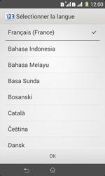 Sony Xpéria E1 Dual - Premiers pas - Créer un compte - Étape 4