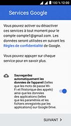 Alcatel U5 - E-mails - Ajouter ou modifier votre compte Gmail - Étape 13