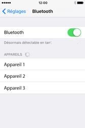 Apple iPhone 4 S iOS 9 - WiFi et Bluetooth - Jumeler votre téléphone avec un accessoire bluetooth - Étape 5
