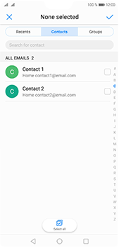 Huawei P20 Pro - E-mail - Sending emails - Step 5