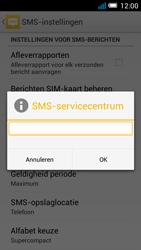 Alcatel OT-7041X Pop C7 - sms - handmatig instellen - stap 8