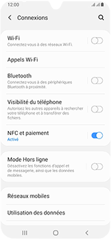 Samsung Galaxy A40 - Bluetooth - connexion Bluetooth - Étape 7