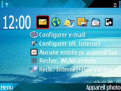 Nokia E71 - Internet - configuration automatique - Étape 1