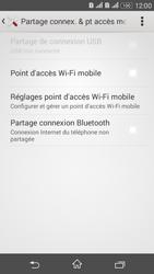 Sony Xperia E4g - Internet et connexion - Partager votre connexion en Wi-Fi - Étape 6