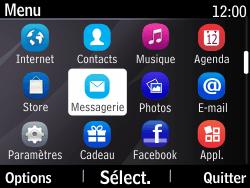 Nokia Asha 210 - SMS - Configuration manuelle - Étape 3