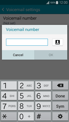 Samsung A300FU Galaxy A3 - Voicemail - Manual configuration - Step 8