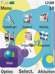 Nokia 7310 supernova - Internet - Hoe te internetten - Stap 2