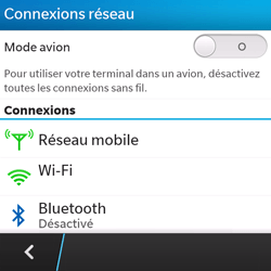 BlackBerry Q5 - Bluetooth - connexion Bluetooth - Étape 7