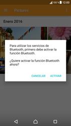 Sony Xperia X - Bluetooth - Transferir archivos a través de Bluetooth - Paso 13