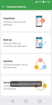 LG Q6 (LG M700n) - Contacten en data - Contacten kopiëren van toestel naar SIM - Stap 13
