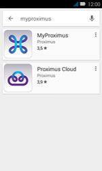 Huawei Y3 - Applicaties - MyProximus - Stap 6