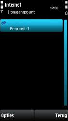 Nokia X6-00 - Internet - handmatig instellen - Stap 12