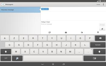 Sony Xperia Tablet Z2 (SGP521) - MMS - envoi d'images - Étape 11