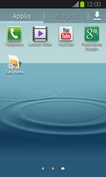 Samsung I8730 Galaxy Express - Messagerie vocale - Configuration manuelle - Étape 3