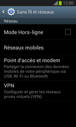 Samsung S7390 Galaxy Trend Lite - MMS - Configuration manuelle - Étape 5