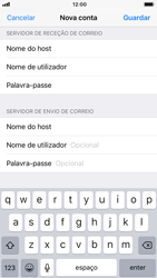 Apple iPhone 6s - iOS 12 - Email - Configurar a conta de Email -  15